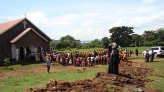 Ουγκάντα: Ο παλιός αχυρώνας που έγινε εκκλησία