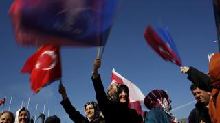 Αλλαγή του Συντάγματος προανήγγειλε ο Ερντογάν