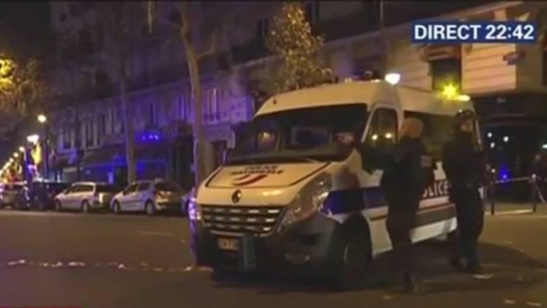 Μπαράζ επιθέσεων στο Παρίσι