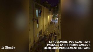 Το βίντεο του τραυματία δημοσιογράφου της Le Monde έξω από το Μπατακλάν