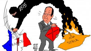 Τα σκίτσα που πενθούν για το Παρίσι