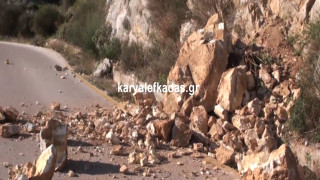 Οι πρώτες εικόνες από τις καταστροφές στη Λευκάδα