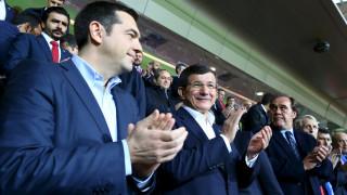Στο φιλικό Τουρκίας-Ελλάδας ο Τσίπρας μαζί με Νταβούτογλου