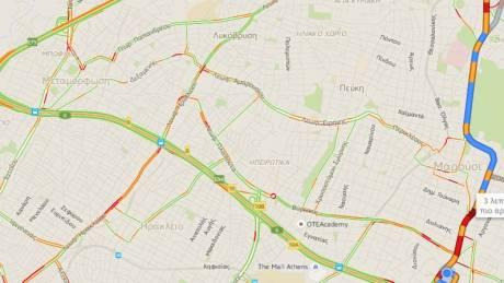 Ήρθε και στην Ελλάδα: Google Maps με traffic information