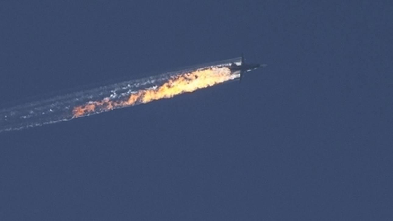 Τουρκικά F-16 κατέρριψαν ρωσικό πολεμικό αεροσκάφος