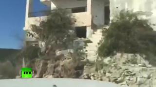 Αντιαρματικός πύραυλος χτυπάει το αυτοκίνητο των ρεπόρτερς του RT