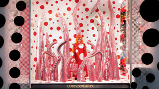 Οι βιτρίνες της Louis Vuitton είναι έργα τέχνης