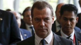 Μεντβέντεφ: Απερίσκεπτες και εγκληματικές οι πράξεις των τουρκικών αρχών