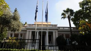 Μαξίμου: Πρωτοβουλία της κυβέρνησης η σύγκληση του Συμβουλίου Αρχηγών