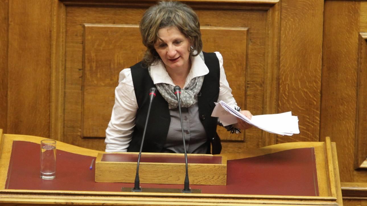 Καταγγελία Θεοχάρη στη Βουλή για τη βουλευτή του ΣΥΡΙΖΑ Μαρία Θελερίτη