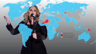Eίναι επίσημο, η Adele κατάκτησε τον κόσμο