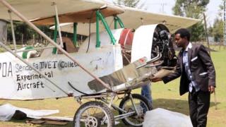Αιθίοπας φτιάχνει αεροπλάνο μέσω Youtube