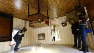 Το... αναποδογυρισμένο σπίτι της Λευκορωσίας