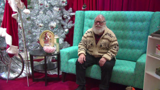 Ένας Άγιος Βασίλης λίγο πιο... χίπστερ