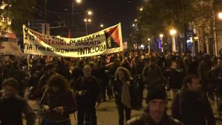 Βίντεο από την έναρξη της πορείας για τον Α. Γρηγορόπουλο