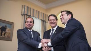 Τσίπρας: Η τριμερής συνάντηση μήνημα ειρήνης και σταθερότητας