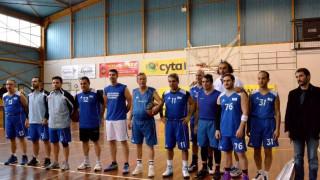 Αγώνας μπάσκετ προς τιμήν παλαίμαχων αθλητών