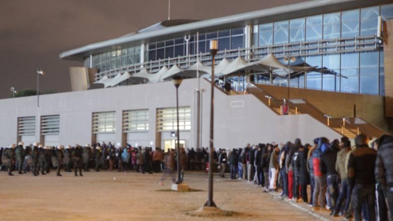 Νέα ένταση μεταξύ μεταναστών στο κλειστό του Τάε Κβον Ντο
