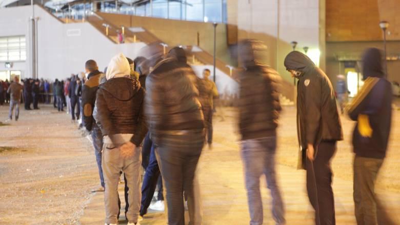 Μαροκινοί μετανάστες διαμαρτυρήθηκαν για τις συνθήκες διαβίωσής τους