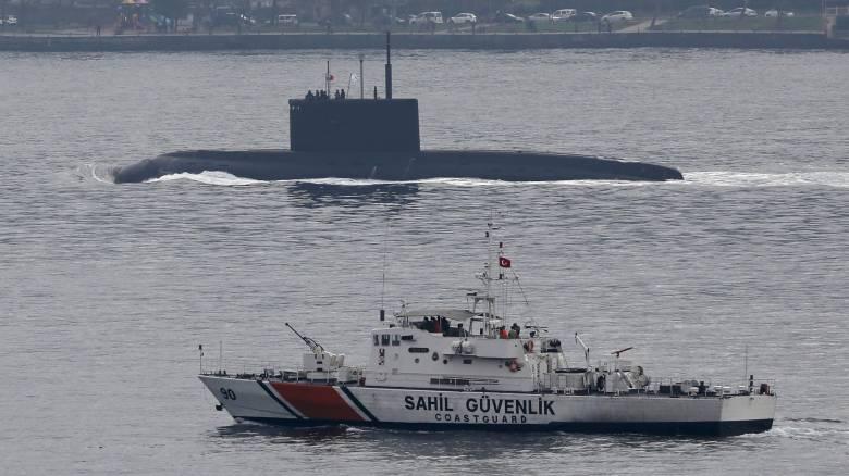 H Toυρκία ερευνά το περιστατικό με το ρωσικό αντιτορπιλικό στο Αιγαίο