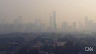 Η μόλυνση του Πεκίνου μέσα από μία timelapse