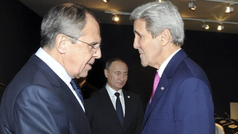 Κρίνεται το μέλλον του Άσαντ στη συνάντηση Κέρι-Πούτιν