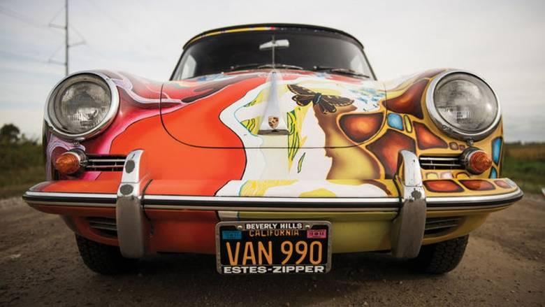 Η ψυχεδελική Porsche 356 Cabriolet της Janis Joplin πουλήθηκε έναντι 1,76 εκατομμυρίων δολαρίων