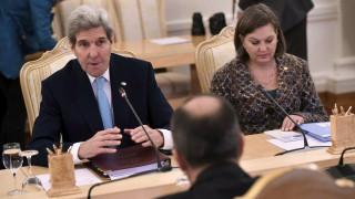 Συριακό και ρωσοτουρκική αντιπαράθεση στη συνάντηση Πούτιν-Κέρι