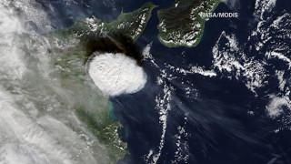 Η NASA φωτογραφίζει το «ξύπνημα» της Αίτνας