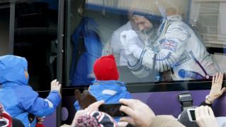 Ξεκίνησε το ταξίδι του ο πρώτος Βρετανός που θα επισκεφθεί τον ISS