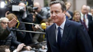 Ντ. Κάμερον: Θέλω να χτίσουμε μομέντουμ για συμφωνία με ΕΕ