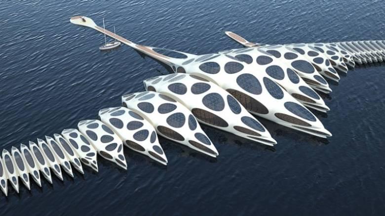 Λονδίνο: Πλωτό «διαστημικό» ξενοδοχείο