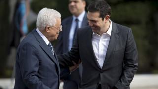 Στη Βουλή ο Μαχμούντ Αμπάς στις 22 Δεκεμβρίου