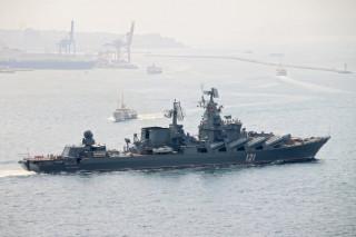 Πάνω στο θρυλικό Μόσκβα του ρωσικού πολεμικού ναυτικού