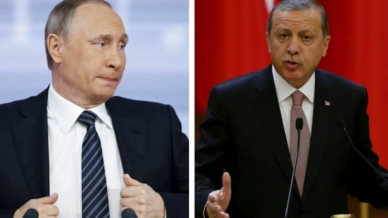 Πούτιν: Είμαστε φίλοι με Τούρκους, όχι με Ερντογάν