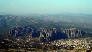 Πανοραμικές λήψεις από την Καλαμπάκα και τα Μετέωρα