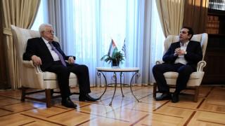 Αμπάς: Καθοριστικός ο ρόλος της Ελλάδας στο Παλαιστινιακό