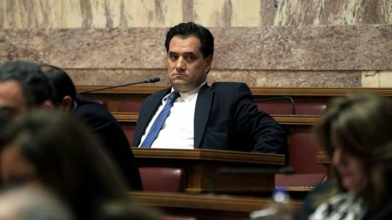 Ο Άδωνις Γεωργιάδης στηρίζει τον Κυριάκο Μητσοτάκη