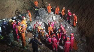 Κίνα: Ανασύρθηκαν ζωντανοί εξήντα ώρες μετά την κατολίσθηση