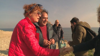 H Σούζαν Σάραντον στο πλευρό των προσφύγων