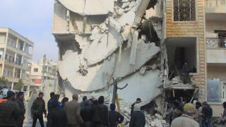 «Κατηγορώ» της Δ. Αμνηστίας για τους ρωσικούς βομβαρδισμούς στη Συρία
