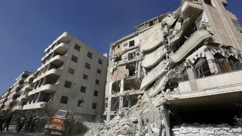 Νεκροί και τραυματίες από βλήματα όλμου στη Δαμασκό