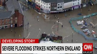 Βούλιαξε η Βόρεια Αγγλία