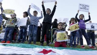 Συμφωνία αποχώρησης ανταρτών δυτικά της Δαμασκού