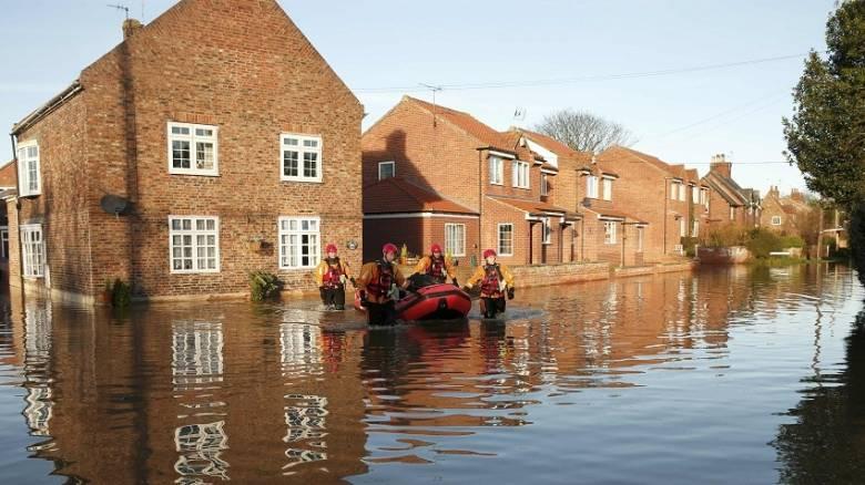 Στρατιωτική συνδρομή στις πλημμύρες της βόρειας Αγγλίας