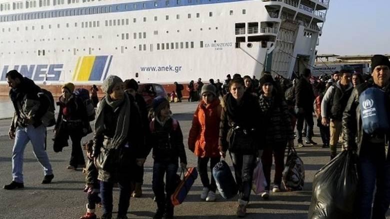 ΟΗΕ: Πάνω από 1 εκατ. μετανάστες δια θαλάσσης στην Ευρώπη το 2015