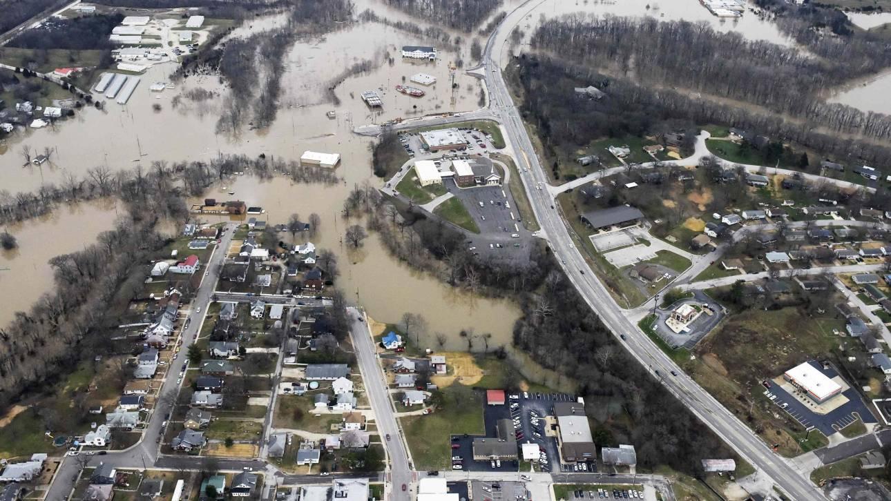 Καιρικές καταστροφές σε Ευρώπη και Αμερική λόγω Ελ Νίνιο