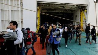Περισσότεροι από 3500 μετανάστες αφίχθησαν στο λιμάνι του Πειραιά