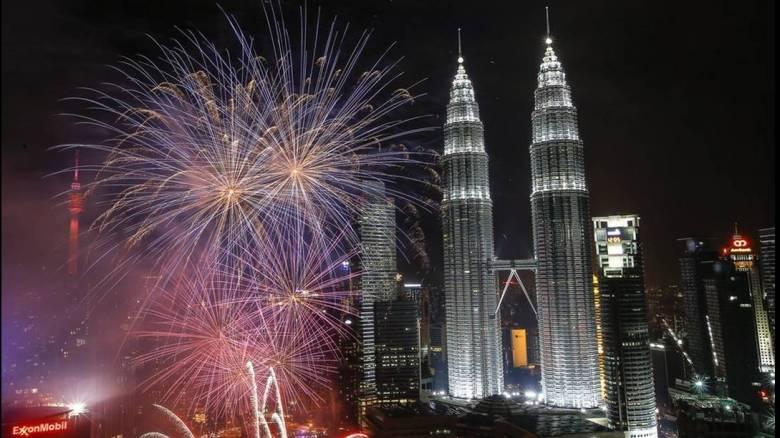 Η Πρωτοχρονιά σε όλο τον κόσμο