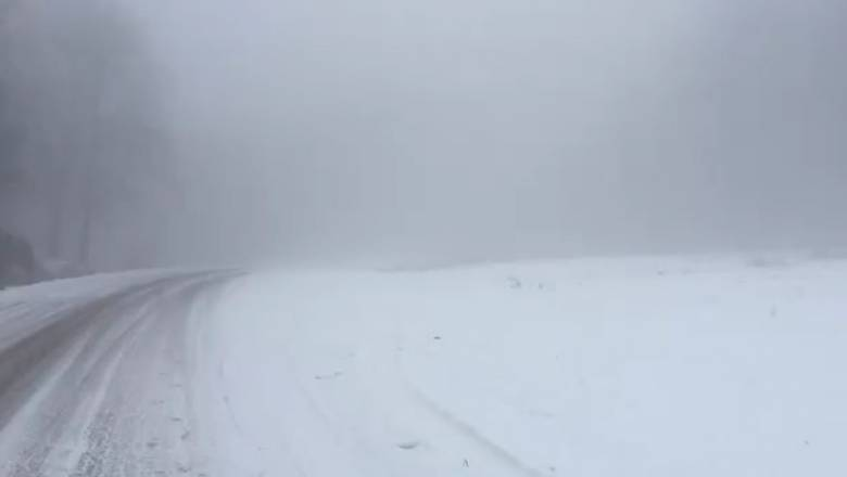 Βέρμιο: Ξαφνίαστηκαν και οι πιο έμπειροι από την ένταση της χιονόπτωσης